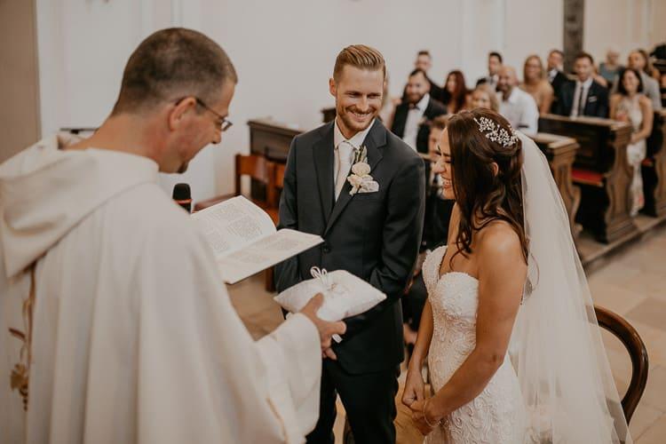 Hochzeit Fontana Golfclub - kirchliche Trauung