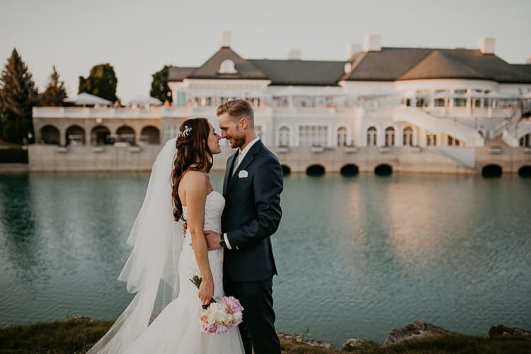 Hochzeit Fontana Golfclub - Paar-Shooting