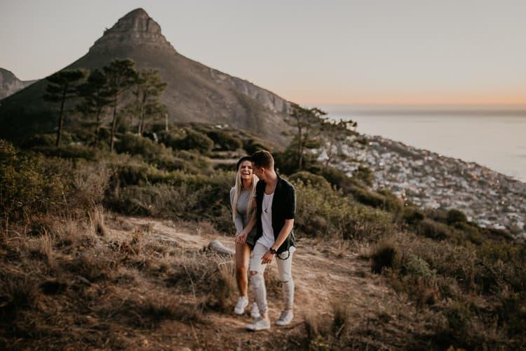 Signal Hill, Cape Town, Kapstadt, Südafrika - Paar-Shooting, Couple Shoot