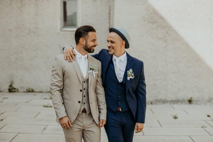 Hochzeit Salzburg Stadt, Museum der Moderne, Paar-Shooting, Gay Couple, Same Sex, LGBTQ