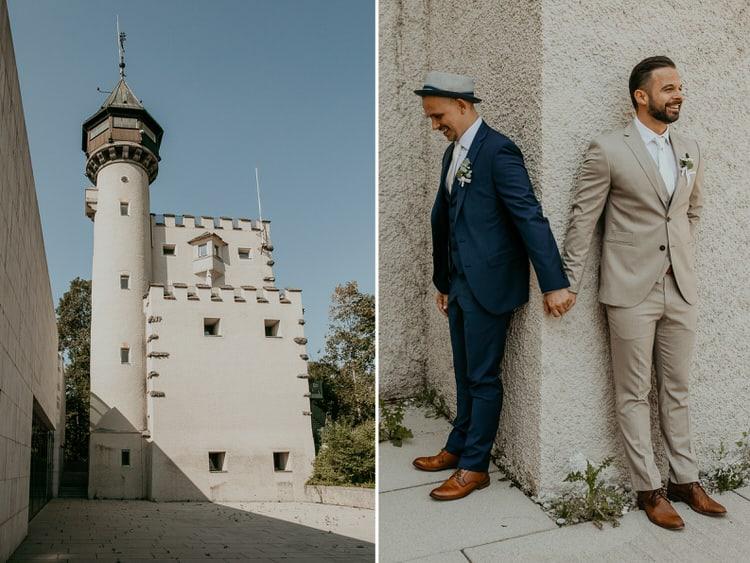 Hochzeit Salzburg Stadt, Museum der Moderne, Gay Couple, Same Sex, LGBTQ