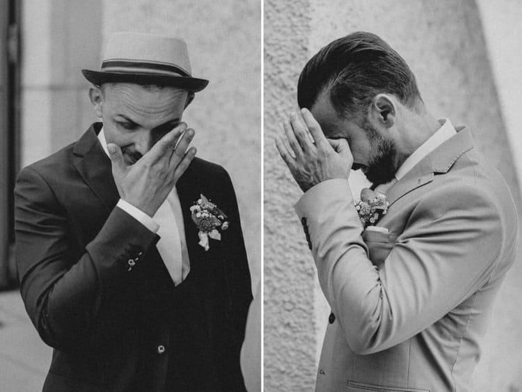 Hochzeit Salzburg Stadt, Museum der Moderne, First Look, Gay Couple, Same Sex, LGBTQ