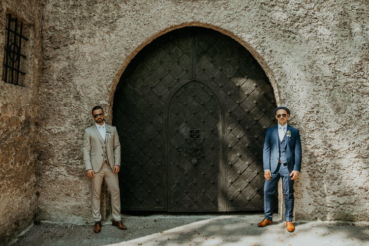 Hochzeit Salzburg Stadt, Mönchsberg, Paar-Shooting, Gay Couple, Same Sex, LGBTQ