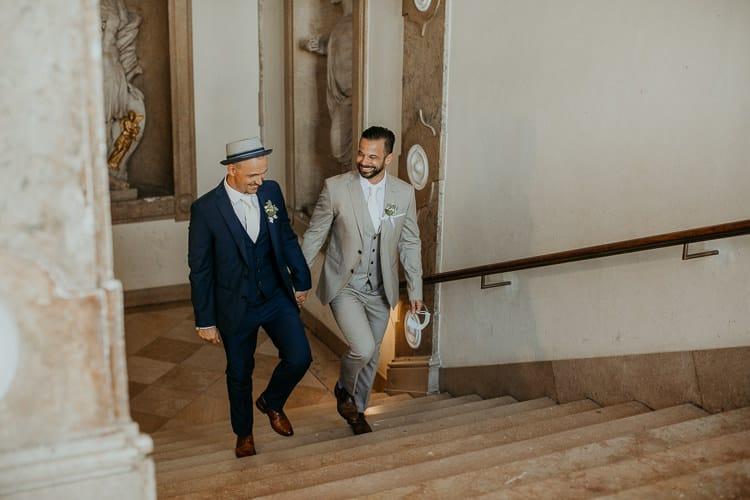 Hochzeit Salzburg Stadt, Schloss Mirabell, Trauung, Gay Couple, Same Sex, LGBTQ