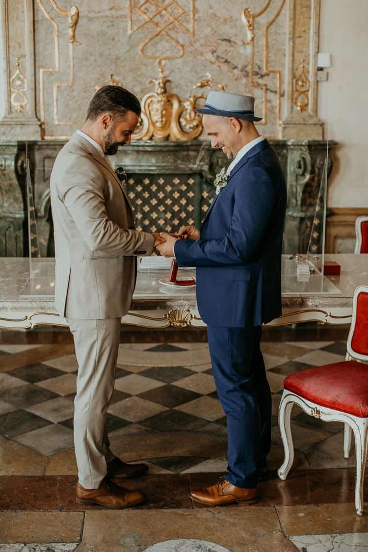 Hochzeit Salzburg Stadt, Schloss Mirabell, standesamtliche Trauung, Gay Couple, Same Sex, LGBTQ