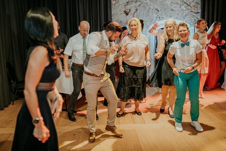 Hochzeit Bad Reichenhall, Alte Saline, Magazin3, Feier, Party, Tanzen, Gay Couple, Same Sex, LGBTQ