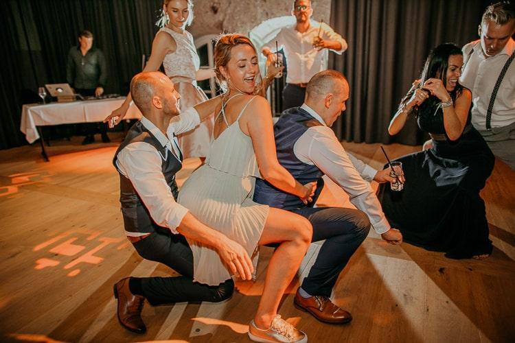 Hochzeit Bad Reichenhall, Alte Saline, Magazin3, Feier, Party, Tanzen, Twerk, Gay Couple, Same Sex, LGBTQ