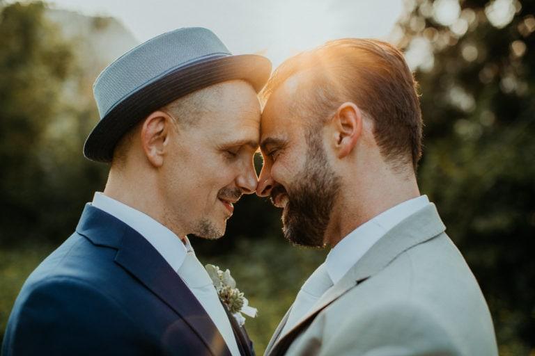 Hochzeit Bad Reichenhall, Alte Saline, Magazin3, Paar-Shooting, Gay Couple, Same Sex, LGBTQ